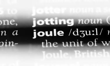 """A dictionary definition of """"joule"""""""